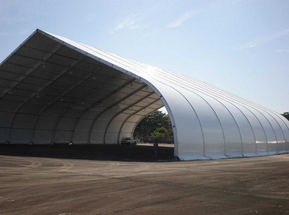 Fabritecture, Fabric Structure, aviation hangar, Vietnam