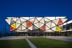 Architectural Photography of Oran Park Library for Fabrictecture