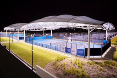 Queensland Tennis Centre project by Fabritecture.