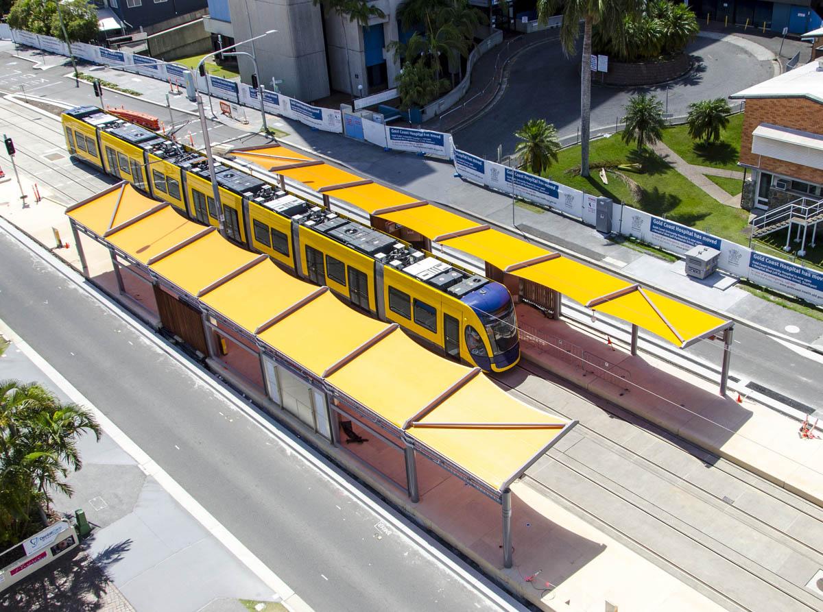 Goldlinq Gold Coast Light Rail Fabritecture