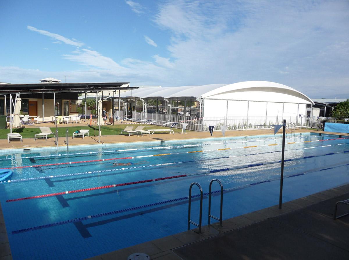 7023, Casuarina Pool, PVC, 2009, FS 6 lo res