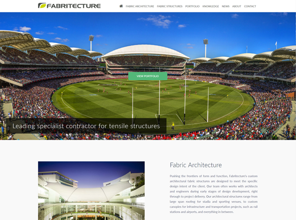 fabritecture, website, fabric structures, fabric architecture, gmg