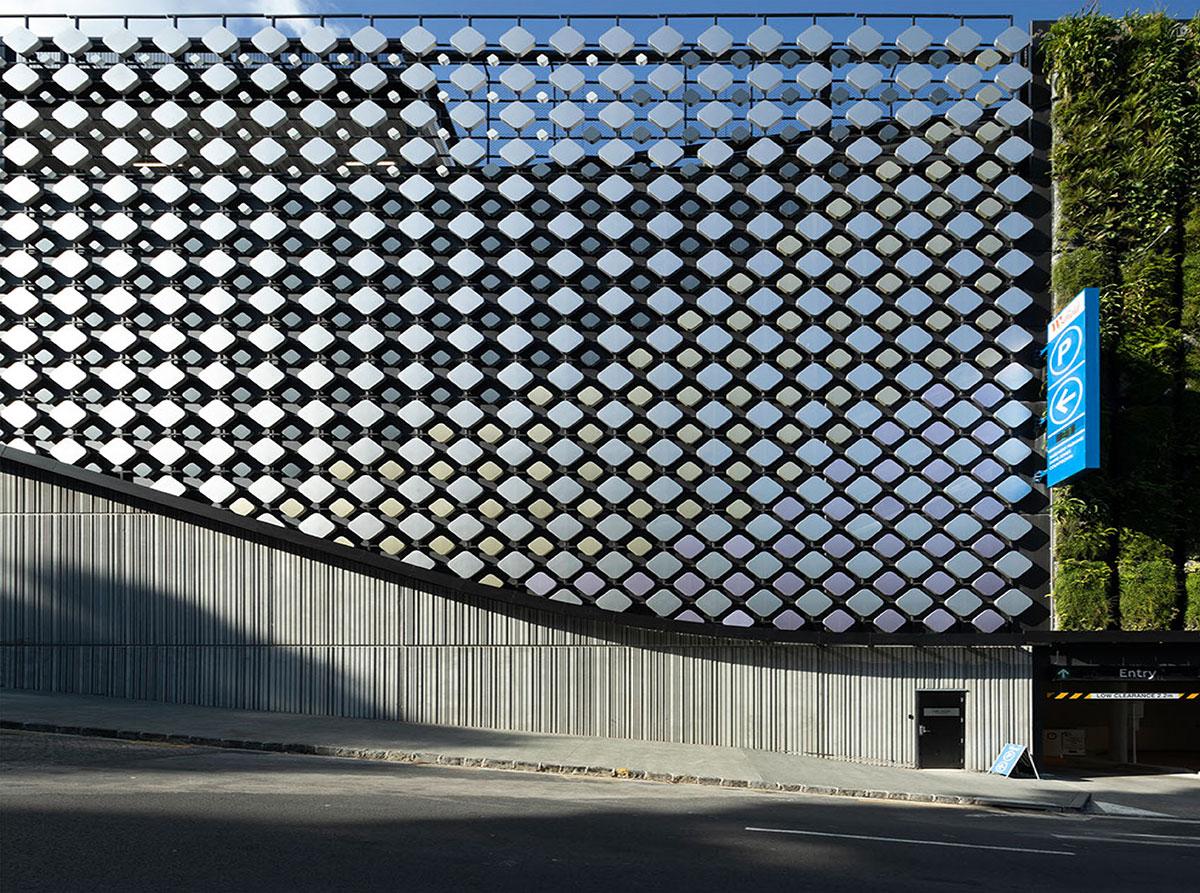 Westfield Newmarket facade, aluminium cladding proejct in New Zealand