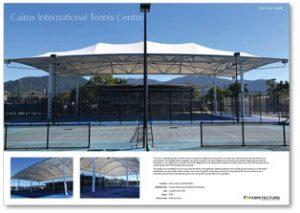 09138 - Cairns International Tennis Centre